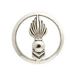 Insigne de béret argenté Corps Techniques et Administratifs