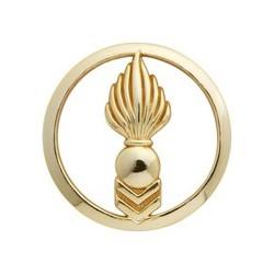 Insigne de béret doré Corps Techniques et Administratifs