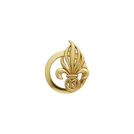 Insigne de béret doré Légion 13ème Demi-brigade de Légion Étrangère