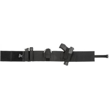 Ceinture holster discrète 2ET21 noir pour droitier