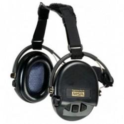 Casque anti-bruit Suprême Pro-X serre-nuque noir coussinets mousse