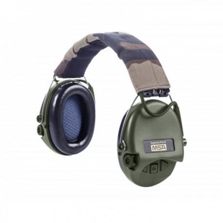 Casque anti-bruit Suprême Pro-X serre-tête cam CE coussinets mousse