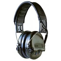 Casque anti-bruit Suprême Pro-X serre-tête vert OD coussinets mousse