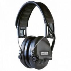 Casque anti-bruit Suprême Pro-X serre-tête noir coussinets mousse