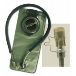 Reservoir hydratation 2.5 litres en vert olive