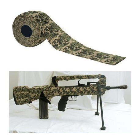 Ruban camouflage reutilisable