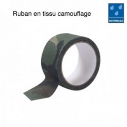 Ruban tissu camouflage adhesif