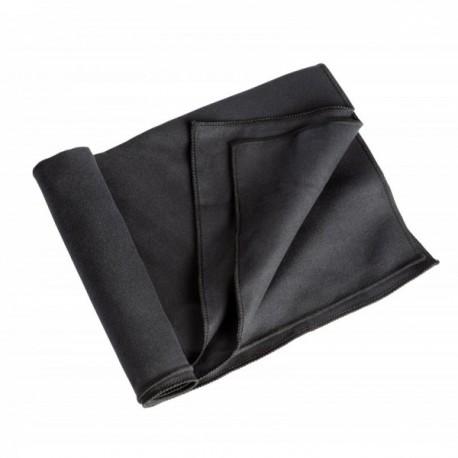 Serviette microfibre Camp 75 x 130 cm noir