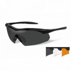 Lunettes de protection balistiques Vapor écrans fumé/incolore/orange
