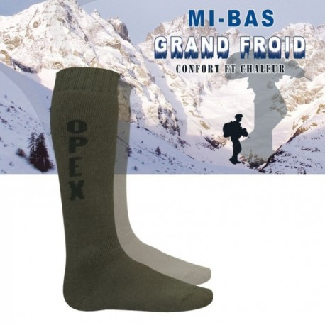 Chaussette mis bas opex grand froid