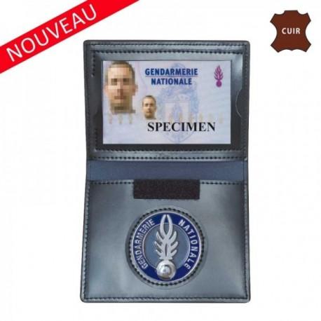 Porte feuille gendarmerie 3 volets avec carte navigo